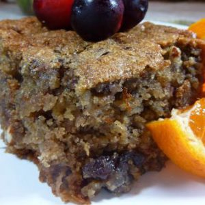 Fruit & Nut Spice Cake