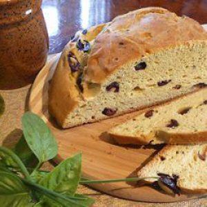 Kalamata Rosemary Boule Bread