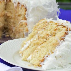 Perfect Coconut Cake