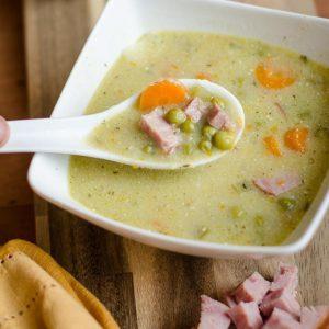 Crockpot Ham & Pea Soup