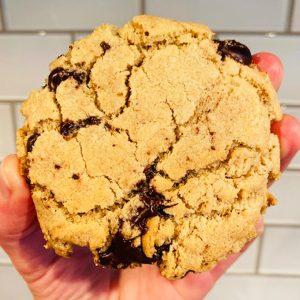 GF + DF Chocolate Chip Cookies