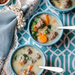 Healing Meatball Soup