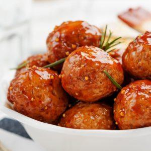Hot 'n Spicy Meatballs