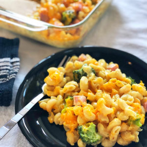 Cheezy Ham & Broccoli Bake
