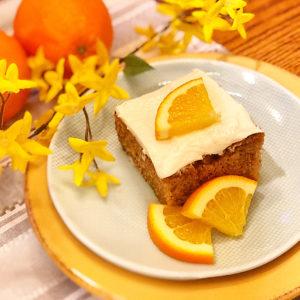 Mandarin Spice Cake