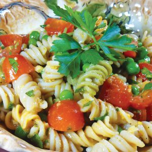 Italian Pea and Pasta Salad