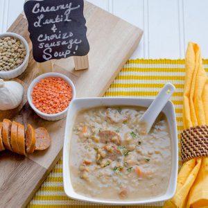 Lentil & Chorizo Sausage Soup