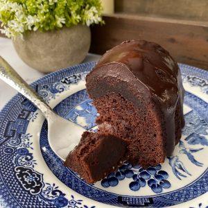 Vegan Chocolate Crazy Bundt Cake